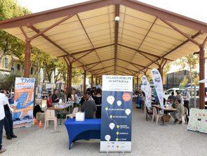 Villages Mobilité en Métropole - Salon de Provence - Vendredi 22 septembre 2017 - Entrée du village