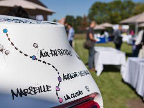 villages Mobilité en Métropole - Aix-en-Provence - Jeudi 21 septembre 2017 - Renault Twizy décorée